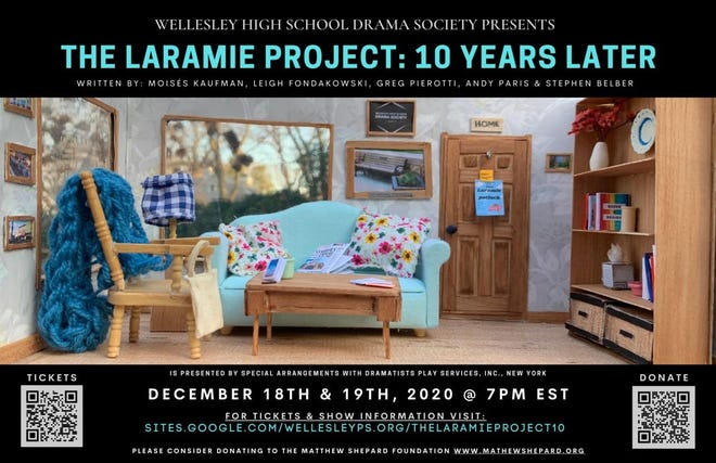"""The Laramie Project: 10 Years Later"" poster."