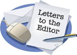 Letters to the editor graphic.
