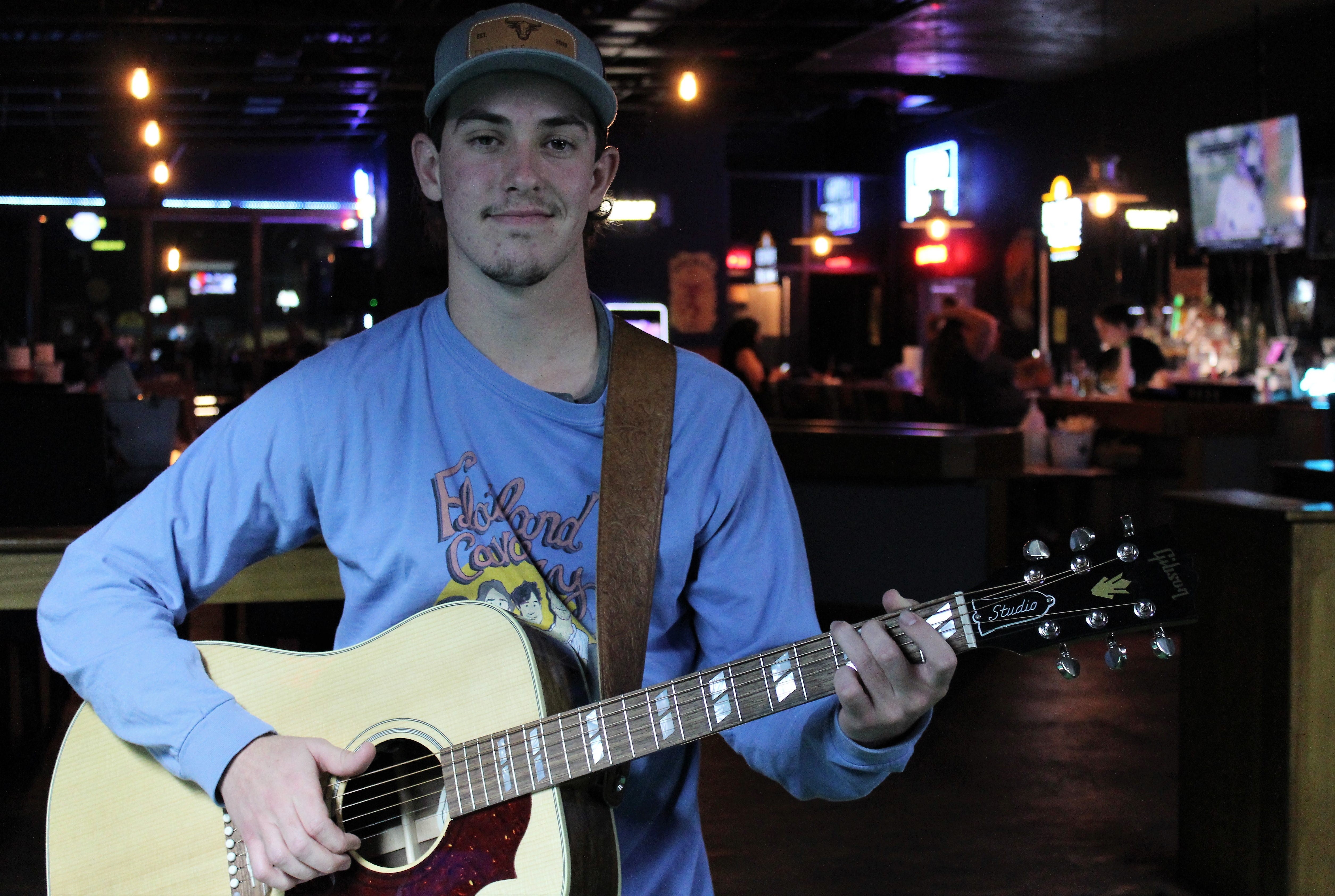 Diamond in the rough: Singer-songwriter Patterson steps to the plate during pandemic