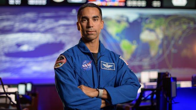 NASA astronaut Raja Chari at NASA's Johnson Space Center in Houston.