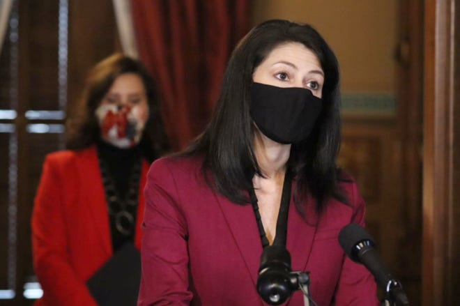 Michigan Attorney General Dana Nessel provideds an update on COVID-19 in Michigan on Tuesday, December 15, 2020.