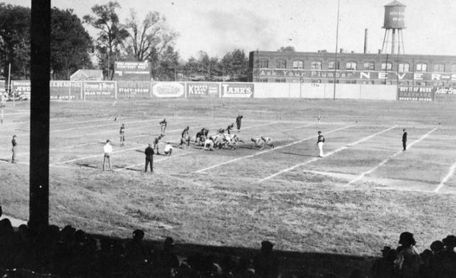 The Evansville Crimson Giants played at Bosse Field.