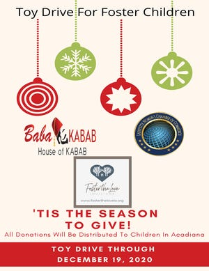 Lafayette Women's Chamber of Commerce, local business owner Nidal Balbeisi partnered with Foster the Love Louisiana for toy drive to benefit local foster children.