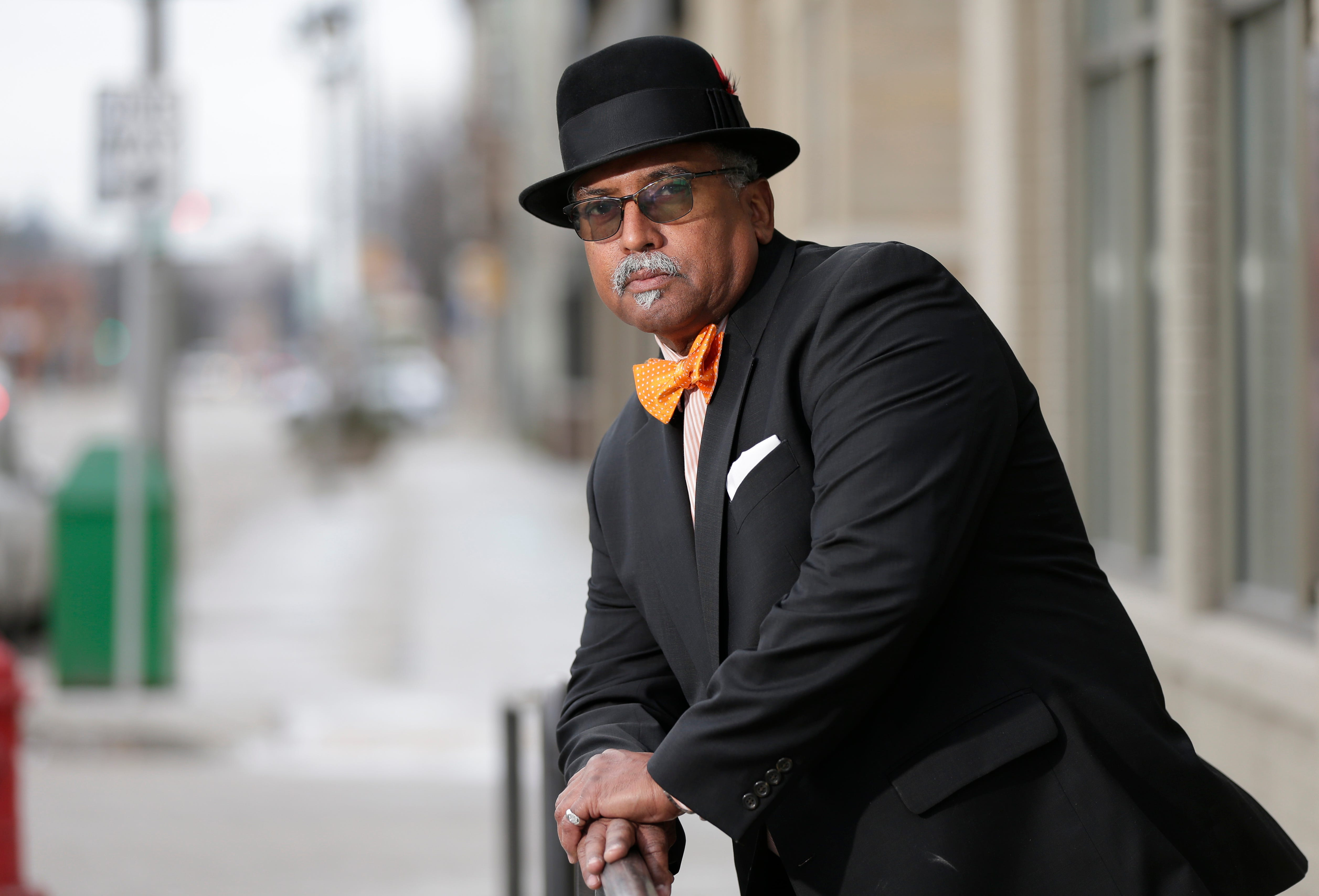 NAACP President Fred Royal outside the NAACP headquarters located at 2745 Dr. Martin Luther King Dr. in Milwaukee on Wednesday, January 31, 2018.