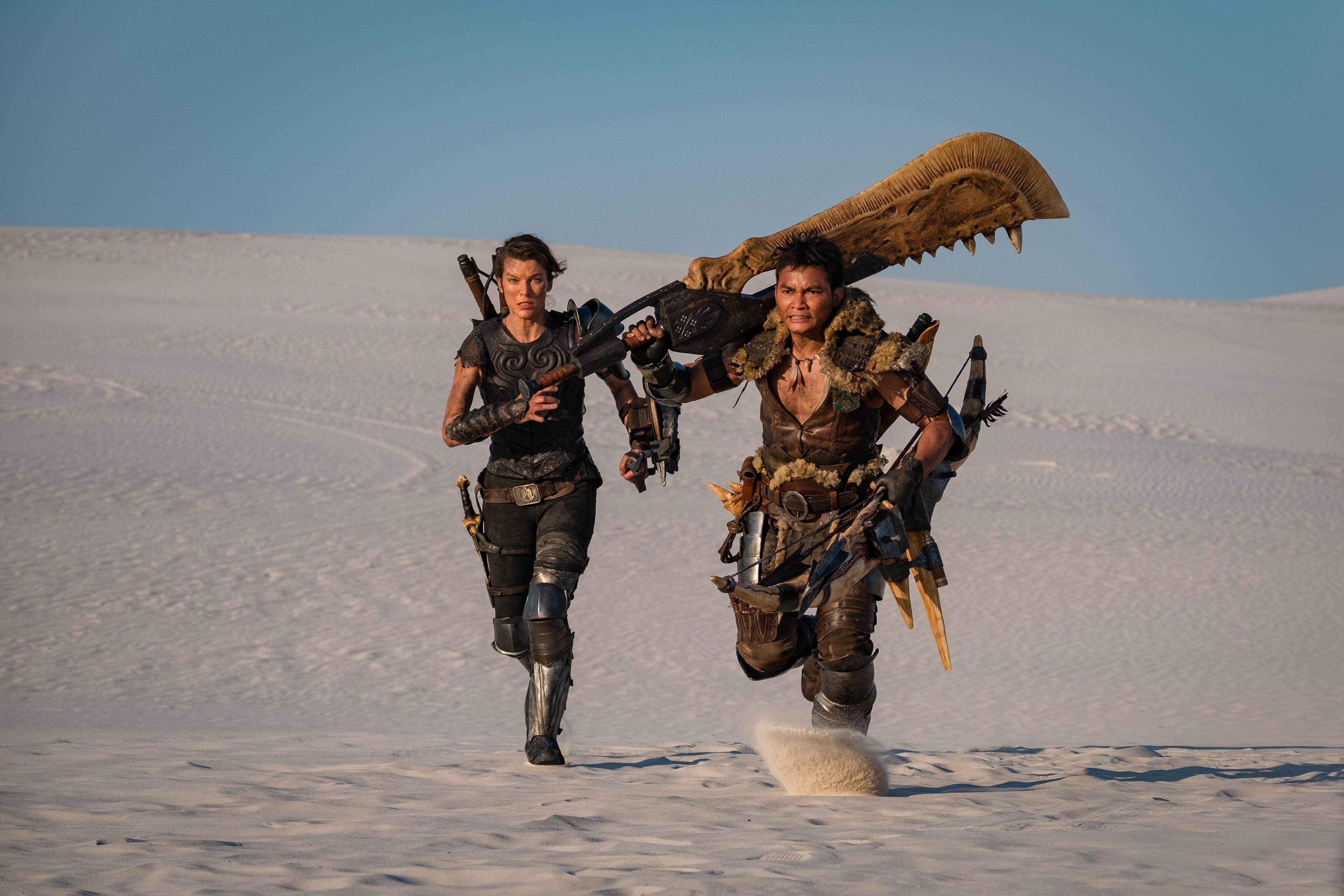 At the movies in Milwaukee: No pre-holiday blockbusters, but  Monster Hunter  and  Fatale  with Hilary Swank