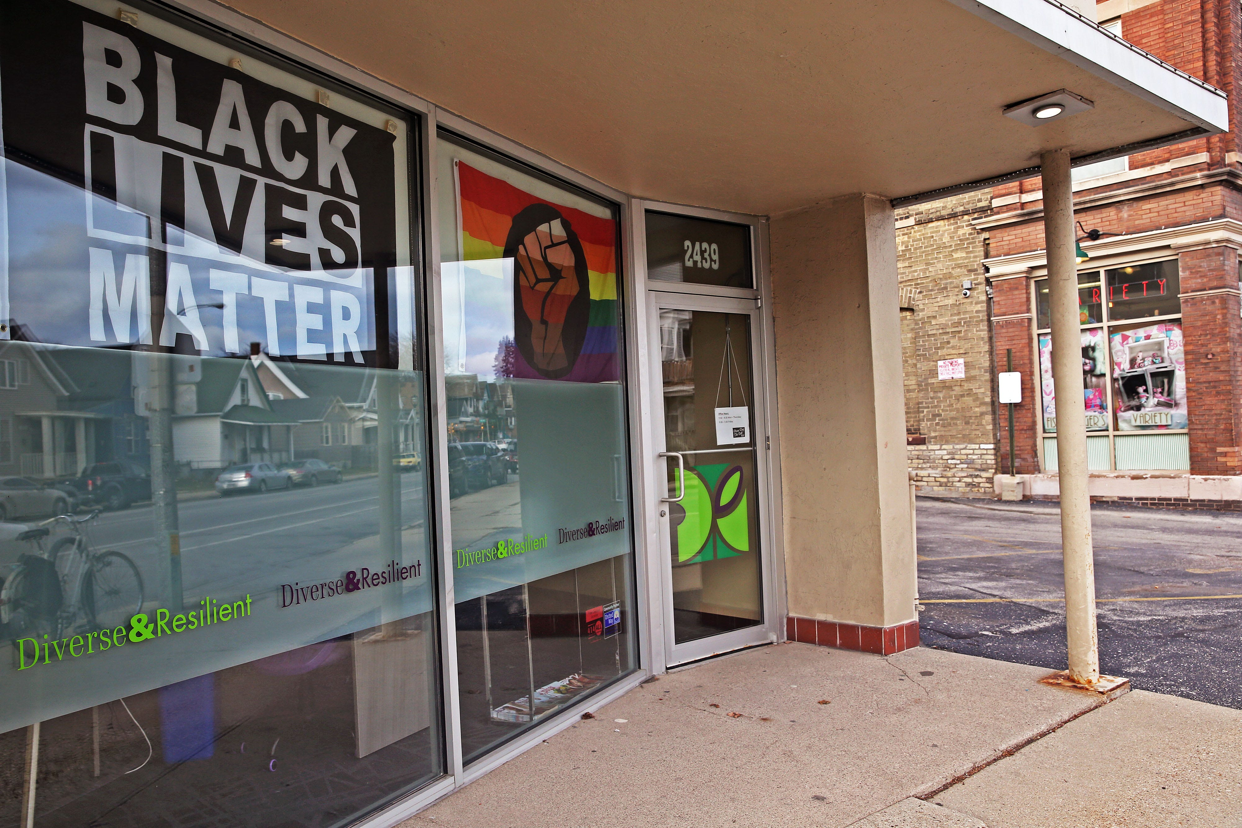 Diverse & Resilient at 2439 N. Holton St., Milwaukee on Tuesday, Dec. 15, 2020.