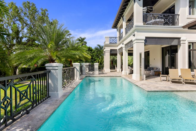 A newly constructed estate home at 277 Gulf Shore Blvd. recently closed for $10.2 million; the most expensive price per square foot in the history of Old Naples real estate (non-beach block).