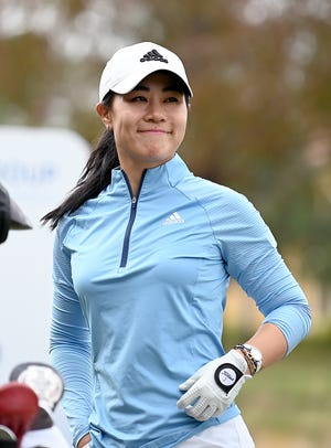 Danielle Kang during the CME Group Tour Championship Pro-Am at the Tiburón Golf Club in Naples ,Tuesday,Dec.15,2020.(Photo/Chris Tilley/Special to the Naples Daily News)