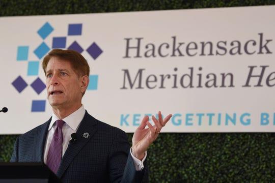 Robert Garrett, CEO of Hackensack Meridian Health