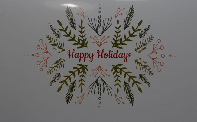 A holiday card was sent to 114 Gulf Breeze families this holiday season stating their overdue utilities were paid by Gulf Breeze Pools and Spas.