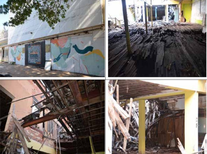 A building at 713 Indiana will remain on the demolition list after the city failed to get the owner to commit to either demolishing it or fixing it.