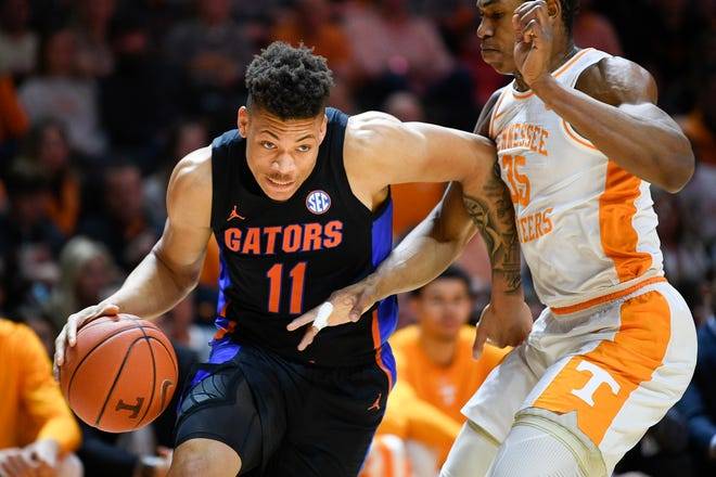 Florida's Keyontae Johnson entered this season as one of the top players in the country, being named the SEC Preseason Player of the Year.