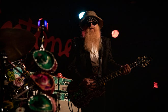 "Legends perform at the Annual ""Jungle Show"" at Antone's featuring Billy F. Gibbons, Sue Foley, Mike Flanigin, Chris Layton and special guest Jimmie Vaughan on Friday December 28th (Robert Hein for Austin360)"