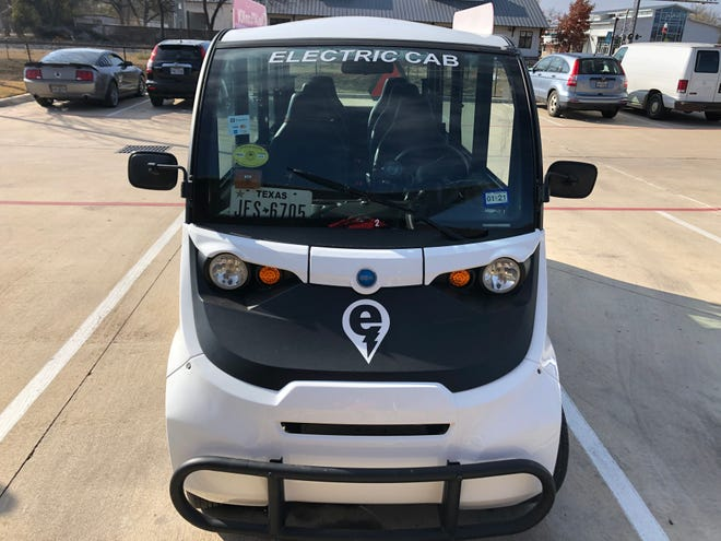 Residents and visitors in Bastrop will now need to request a ride for an eCab through the Electric Cab app or by calling 254-340-0348.