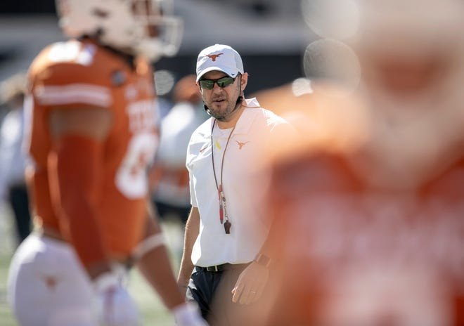 Texas head coach Tom Herman had signed three straight top-10 ranked recruiting classes. His 2021 group is ranked 17th; he signed 19 players on Wednesday, the first day of the early signing period, but said as many as nine more prospects may be added by national signing day in February.