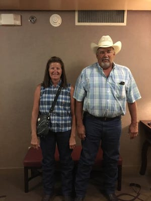 A photo of Evelyn Cohoon and her husband, Mike. Cohoon is battling  mesothelioma, a type of lung cancer, and her family is asking the community for blood donations.