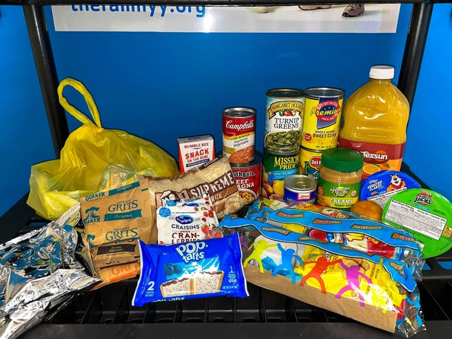 The Family YMCA of Greater Augusta will have free shelf-stable meals and snacks available at area YMCA locations throughout the holiday season.