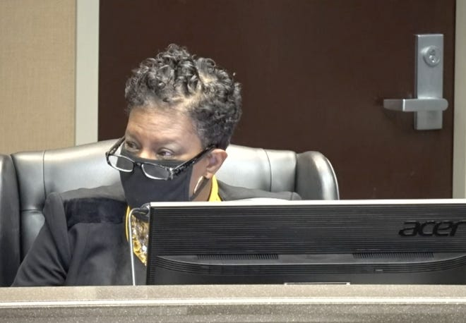 Richmond County school board member Venus Cain recommended a resolution be sent to the state Legislature asking for a one-time school employee bonus.