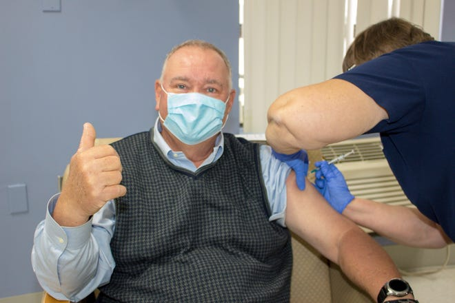 Beauregard Health System received its first allotment of the Pfizer COVID-19 vaccine on Wednesday.