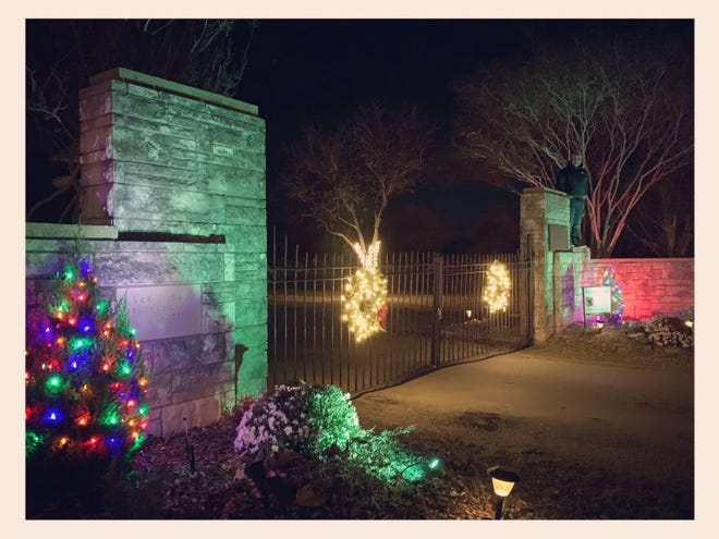 Greenleaf Cemetery's annual Holiday Trail of Lights will be December 18, 19, 20 and 21 from 6 to 8 p.m.