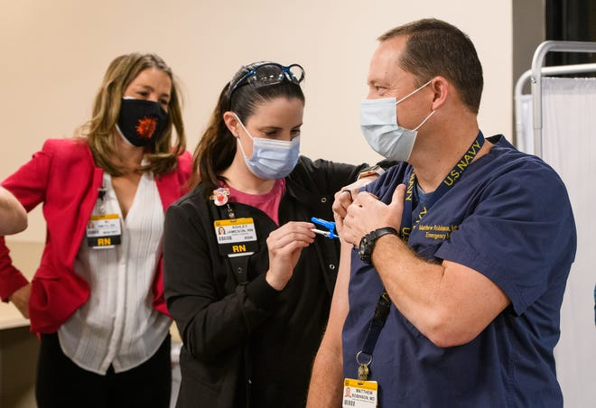MU Health Care begins administering a round of COVID-19 vaccinations at University Hospital.