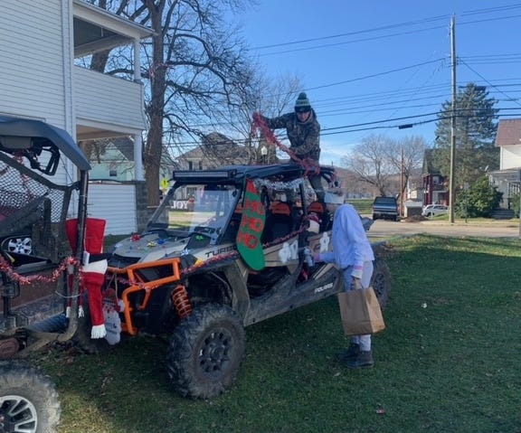 A Country Christmas Side by Side Ride drew over 20 machines and dozens of participants to raise money for the Hornell Area Humane Society.