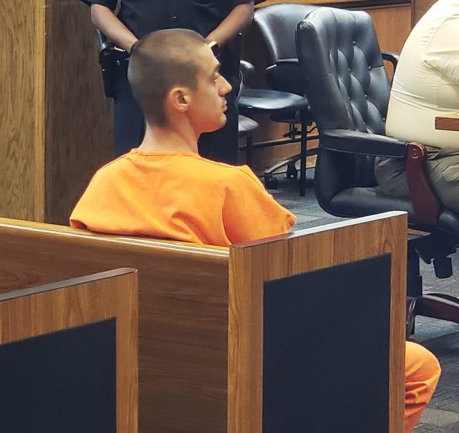 Jovan Sisljagic attends his 2018 bail hearing.