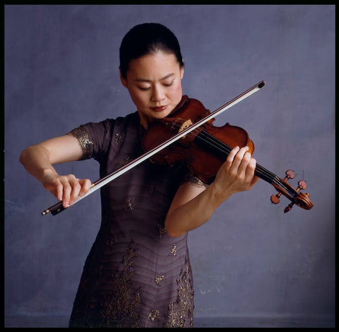 Violinist Midori is scheduled to play two shows at Fernandina Beach's First Baptist Church in April as part of the Amelia Island Chamber Music Festival.