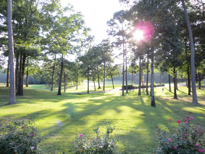 The sun shines brightly on the Ponce de Leon golf course in Hot Springs Village.