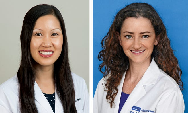 Left to right: Dr. Elizabeth Ko, M.D., and Eve Glazier, M.D., MBA