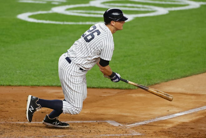 New York Yankees' DJ LeMahieu won his second batting crown last season by hitting .364, adding 10 home runs and 27 RBIs during the pandemic-shortened 60-game season.