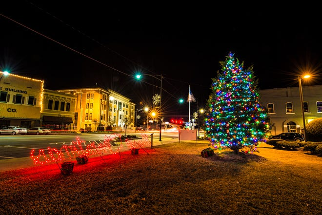 Russellville is one of the any cities to participate in the the Arkansas Trail of Lights.