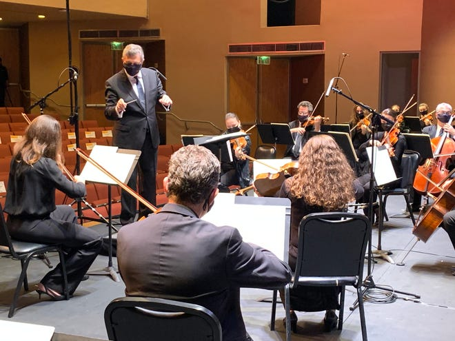 Palm Beach Symphony Music Director Gerard Schwarz conducts a holiday concert that will be televised Thursday, Friday and Saturday.