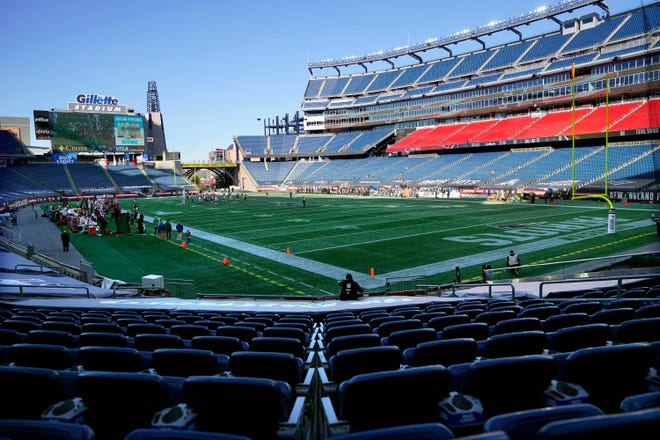 Most NFL stadiums looked like Gillette, when the Patriots hosted the Cardinals on Nov. 29, empty. NFL owners are hoping for a return to normalcy when the 2021 season kicks off.