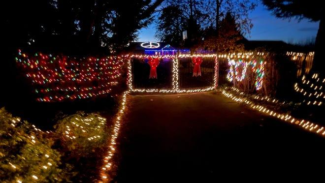 Christmas Lights Route 2021 Albany Oregon Holiday Lights List Map Lane County 2020