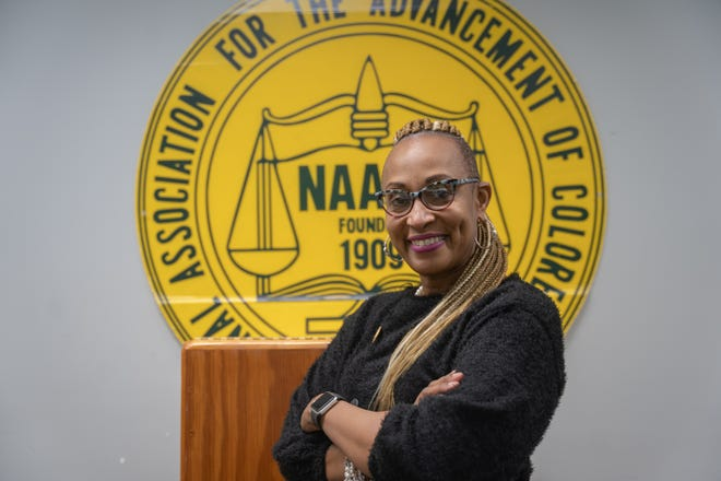 Rhonda Greer has been re-elected president of the Rockford NAACP chapter.