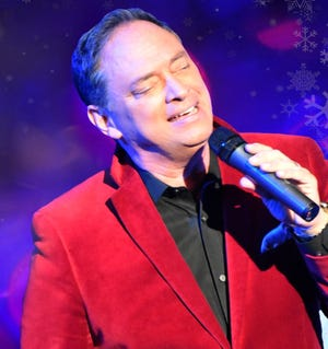 """A virtual concert """"A Crooner Christmas LIVE!"""" will be showing live from theThe Temple in downtown Salina on Saturday."""