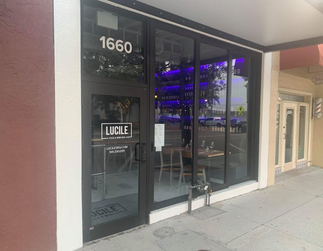 Lucile Pizza & Wine Bar at 1660 Main St. in Sarasota is co-owned by Ryan Boeve of Lila and Mark Baldwin of Baldwin Construction & Design.