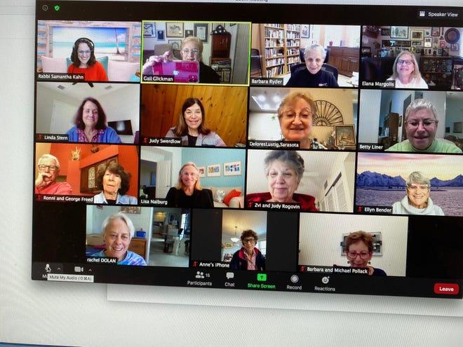Temple Sinai's Rabbi Samantha Kahn hosts a virtual Biblical HERstory course on Dec. 9.