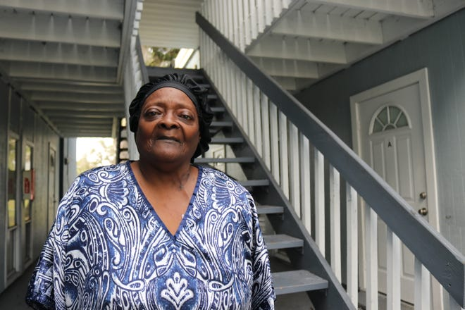 Mary Jackson, 66 of Bradenton, received $1,000 from Season of Sharing dollars in November to cover her rent. The assistance has allowed her to stay in her apartment until her lease ends at the end of the year.