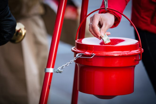 There are 26 kettles throughout Savannah this year until Christmas Eve, which have been up significantly less time this year due to the closing of retail stores and the decline in foot traffic.
