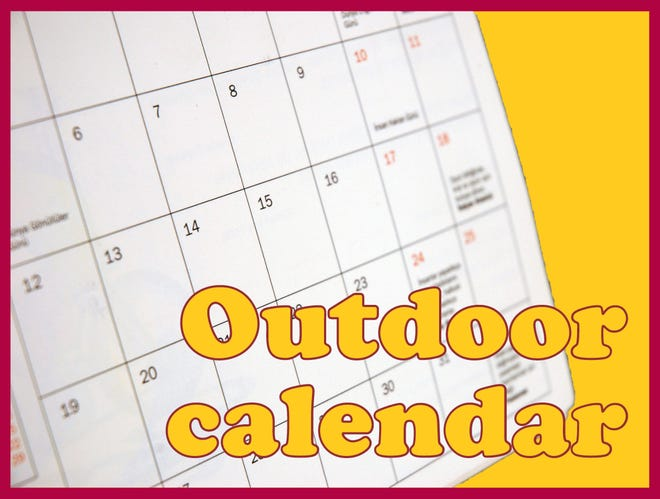 Kansas outdoor calendar
