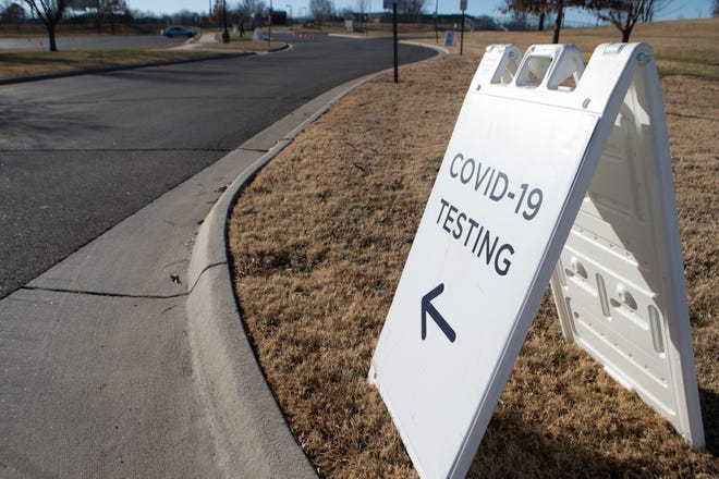 COVID-19 testing is available for free at Hummer Sports Park in Topeka and other facilities. [Evert Nelson/The Capital-Journal]