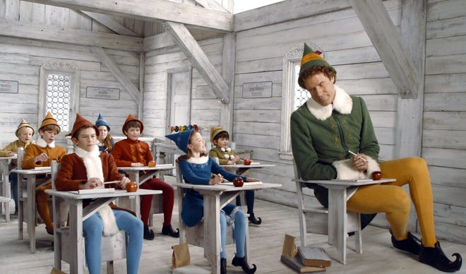 "Gazette readers have chosen ""Elf"" as Taunton's favorite Christmas movie."