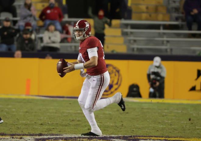 Quarterback Mac Jones' Alabama Crimson Tide remain No. 1 entering championship weekend.