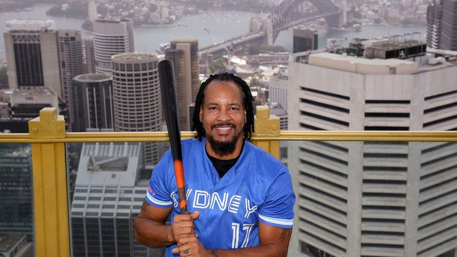 With the city of Sydney as his backdrop, former Red Sox slugger Manny Ramirez is set to play for the Blue Sox in Australia.