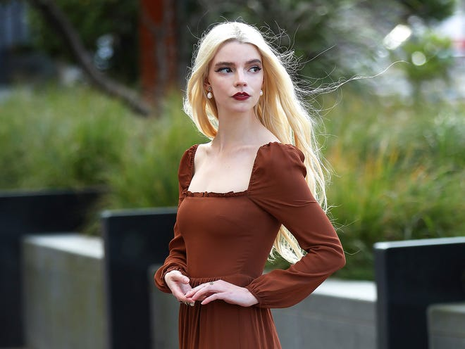 Anya Taylor-Joy poses for a portrait in Belfast's Titanic area in Northern Ireland. Taylor-Joy has been named one of The Associated Press' Breakthrough Entertainers of 2020.
