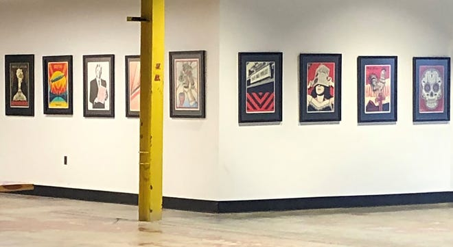 """""""Manifest"""" is a new art exhibit on view at the Bakery District in Fort Smith through Jan. 7."""