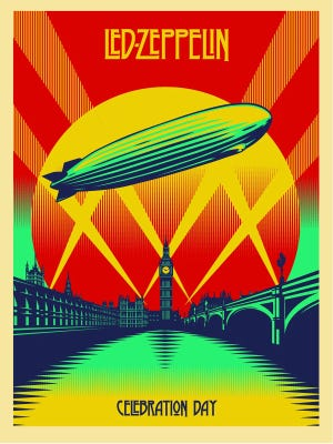 """""""Celebration Day"""" by Shepard Fairey is one of 10 original Shepard Fairy prints from the collection of Peter Cullum in the exhibit """"Manifest"""" at the Bakery District through Jan. 7. The Bakery District is at 70 S. Seventh St."""