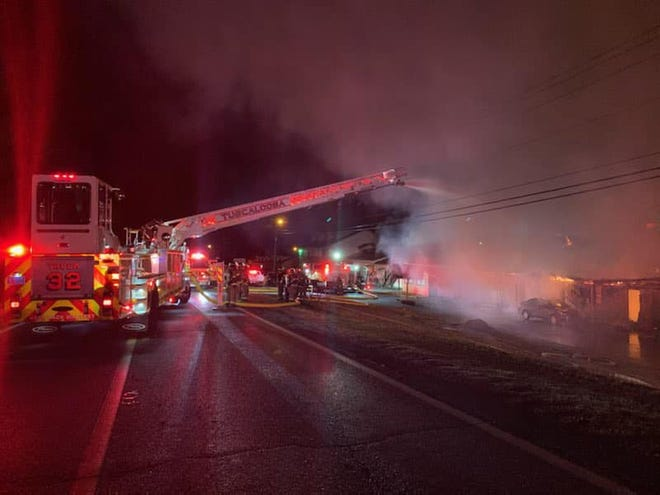 An investigation is underway after 11 units atCottondale Efficiency Apartments caught fire Tuesday evening.
